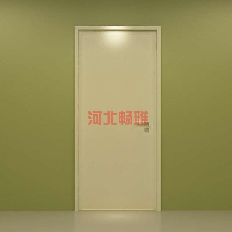 辐射防护单开门