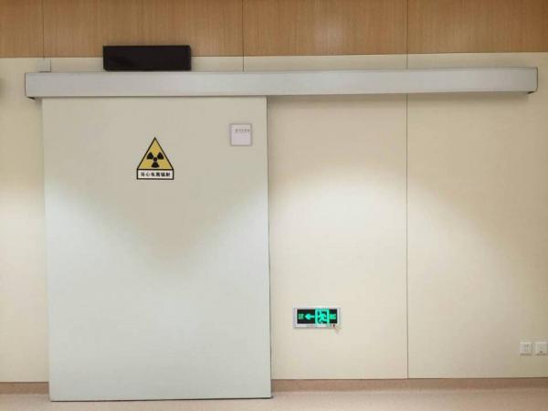 电动辐射防护门